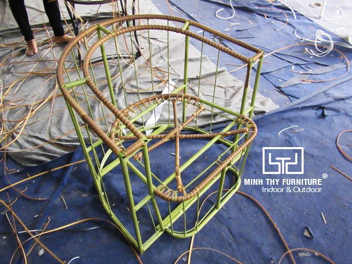 Video sản xuất ghế nhựa giả mây cao cấp đạt tiêu chuẩn quốc tếtại Nội thất Minh Thy