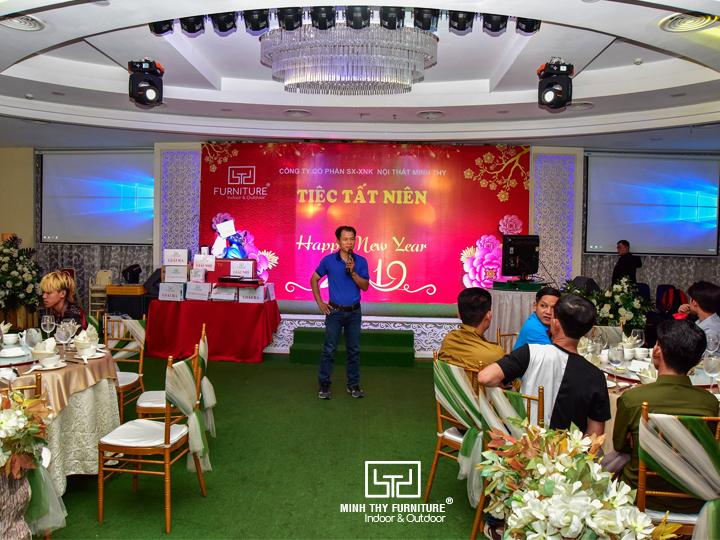 Tiệc tất niên Nội Thất Minh Thy năm 2018